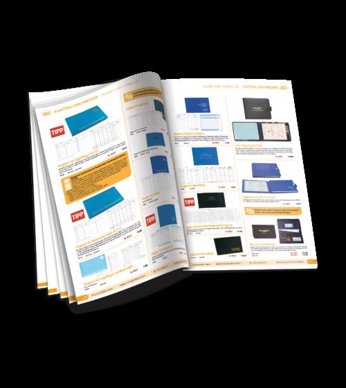 BtoC-Printmedien für Handelsunternehmen Luftfahrtbedarf