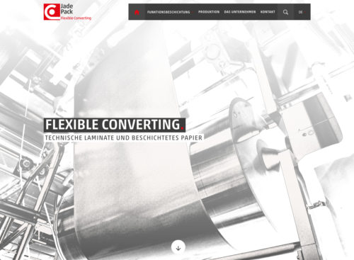 Corporate Website auf WordPress-Basis
